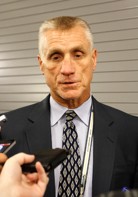 Paul Holmgren does not plan on dealing his young talent for established stars.