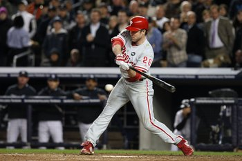 The 2009 World Series may have been Utley's finest hour, even in a losing cause.