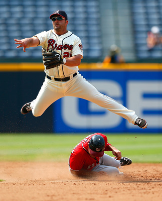 Dan Uggla's power numbers are down this year.
