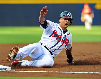 Martin Prado was snubbed from the All-Star team.