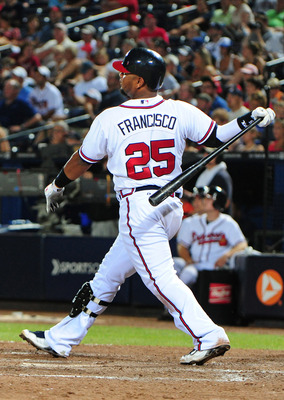 Juan Francisco did hit another homer to start the second half of the season tonight.