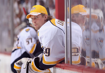 Tampa added back-up goaltender Anders Lindback in a trade with Nashville.