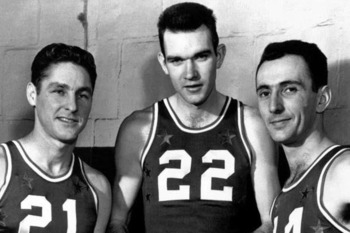 Bill Sharman, Ed McCauley, Bob Cousy. Credit: photobucket.com