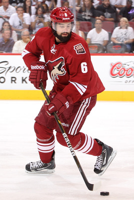 Schlemko is coming off an injury filled season but has played well when in the lineup for the 'Yotes