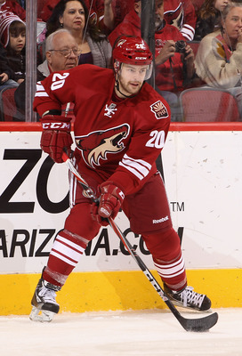 The talented Summers is looking to make the Coyotes on a full-time basis this season