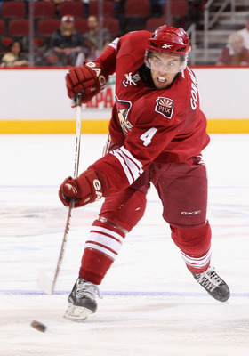 Gormley is the most heralded of the young defensive prospects for the Coyotes