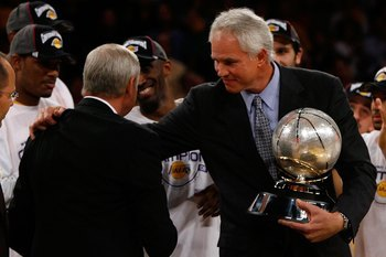 Just as we Laker Nation began to believe his hands were tied from above, General Manager Mitch Kupchak acquitted himself masterfully as a personnel manager.
