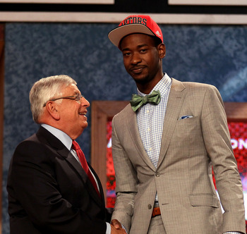 Terrence Ross, 8th overall pick by the Raptors in 2012 NBA Draft