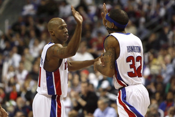 Chauncey Billups, Richard Hamilton.