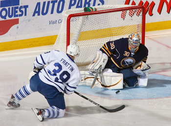 Ryan Miller is one of the most athletic goalies in the league.