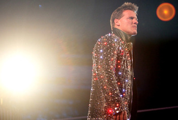 The light shines bright for Chris Jericho. Image by The Great Mambino
