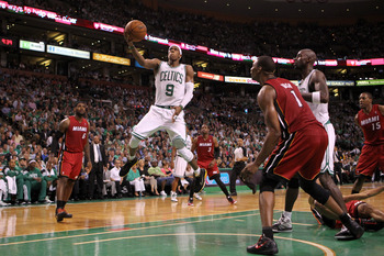 Rondo became the face of the Celtics this year and almost led them to a NBA Finals appearance.