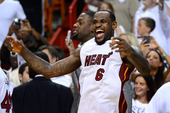 LeBron can finally exhale as he has a full stranglehold on the No. 1 spot thanks to the winning of his first title