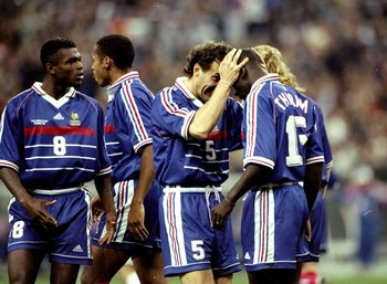 Thuram was part of France's multicultural team that brought much success