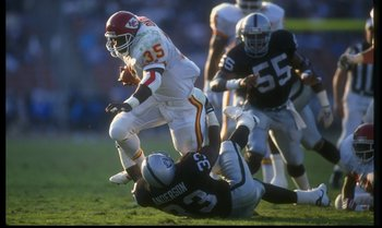 Football Star Christian Okoye put Azusa Pacific on the map.  Could football stars do it again?