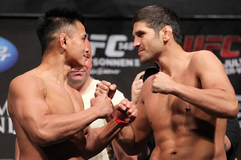 Cung Le is so fun to watch that it is tough to find a matchup that would not work for him. Photo by Josh Hedges/Zuffa LLC/Zuffa LLC via Getty Images.