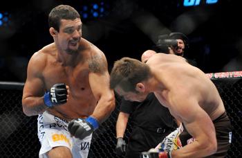 Vitor Belfort is commonly considered the #3 middleweight behind Sonnen and Silva, but was quickly KO'd Silva.