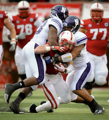 Northwestern upset Nebraska with a 28-25 victory last season.