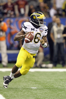 Nebraska needs to shut down Michigan multi-threat QB Denard Robinson.