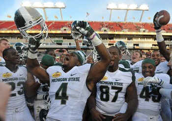 Michigan State will be revved up to play Nebraska in 2012.