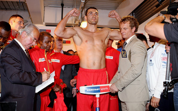 Can anyone touch Wladimir Klitschko?