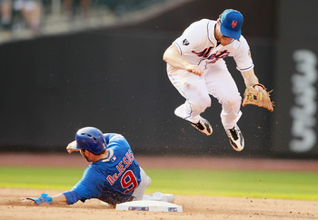 Daniel Murphy is adjusting to second base