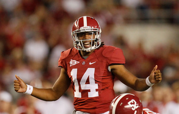 The transfer of Phillip Sims leaves the Crimson Tide without a QB who has taken a college snap behind McCarron.