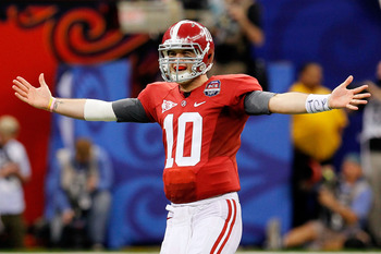 With several stars gone from last year's team, McCarron will be the Tide's most recognizable player this season.