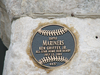 The plaque commemorating Junior's blast. Photo courtesy of southflorida.com.