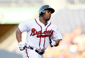 The Braves could lose Michael Bourn after this year.