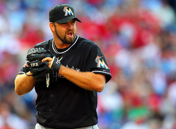 Heath Bell's six blown saves are tied for the major league lead.