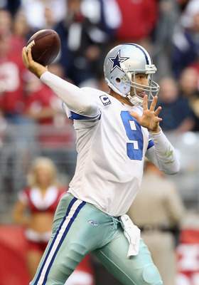Romo has a soft touch and is an efficient passer.