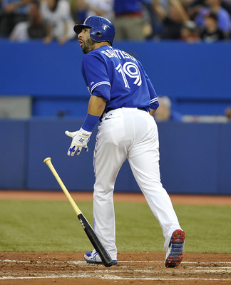 Jose Bautista has right field locked down for Toronto...