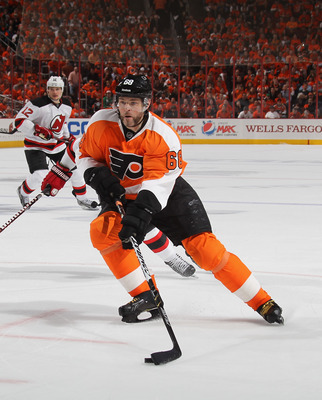 The Flyers will be without Jaromir Jagr during the 2012-13 season; he signed a one-year deal with the Dallas Stars.