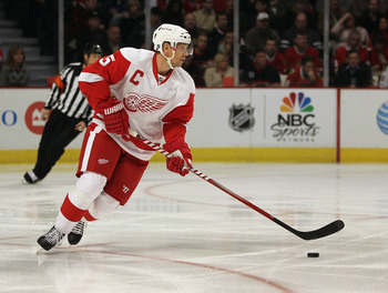 The Red Wings need to find a replacement for Nicklas Lidstrom before pursuing Rick Nash.