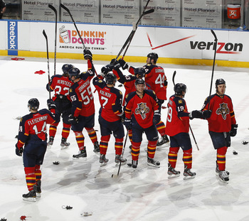 The Florida Panthers had a great season last year, but need to keep the wheels moving
