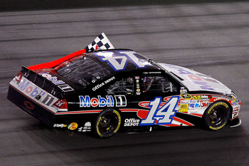 Tony Stewart took the checkers Saturday night at Daytona