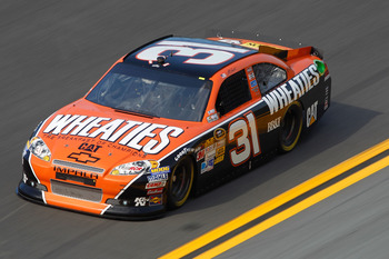 Jeff Burton raced to a season-best second place finish at Daytona