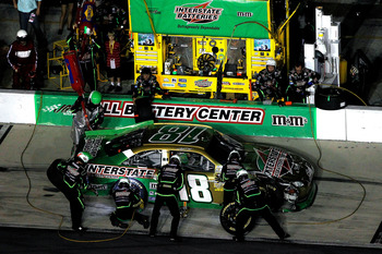 Kyle Busch lost some ground in the wild card hunt at Daytona