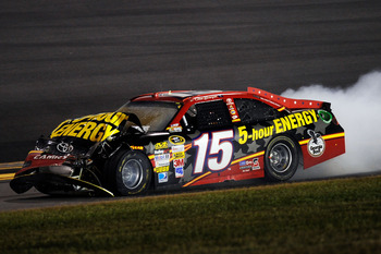 Clint Bowyer's night at Daytona ended early