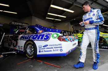 Michael Waltrip finished ninth at Daytona