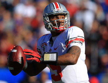 The development of Braxton Miller will determine how many games Ohio State wins in 2012.