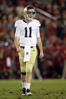 Will Tommy Rees be Notre Dame's starting quarterback in 2012? That's the question everyone wants answered right now in South Bend.