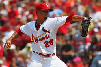 Kyle Lohse has been St. Louis' best starter since 2011.