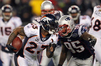 Will Willis McGahee come close to matching last season's success with Peyton Manning replacing Tim Tebow at QB for the Broncos?