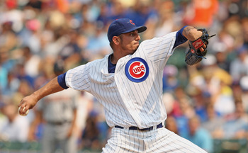 Matt Garza would provide a solid presence in the Cleveland rotation alongside Ubaldo Jimenez and Justin Masterson.