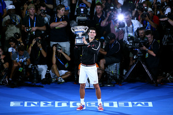 Novak Djokovic- 2012 Australian Open Champion