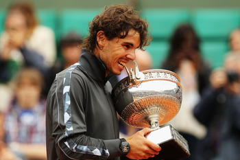 Rafael Nadal- 2012 French Open Champion