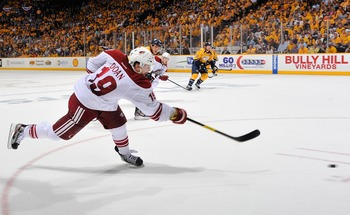 Shane Doan is one of the few free agents the Caps should target