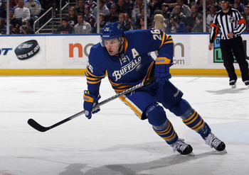 Thomas Vanek may be offered by the Sabres in a trade for a center.